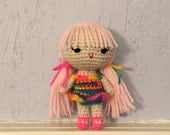 Doll Amigurumi - crocheted doll
