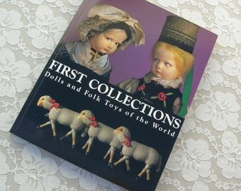 Dolls & Folk Toys of the World, large Mingei International Museum exhibition catalogue book, dolls/puppets/animals/toys