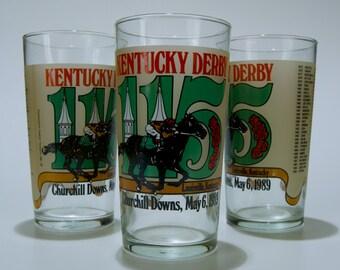 1989 Vintage Kentucky Derby Mint Julep Glass