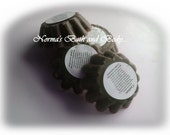 chocolate brownie candle tarts. pack of 4