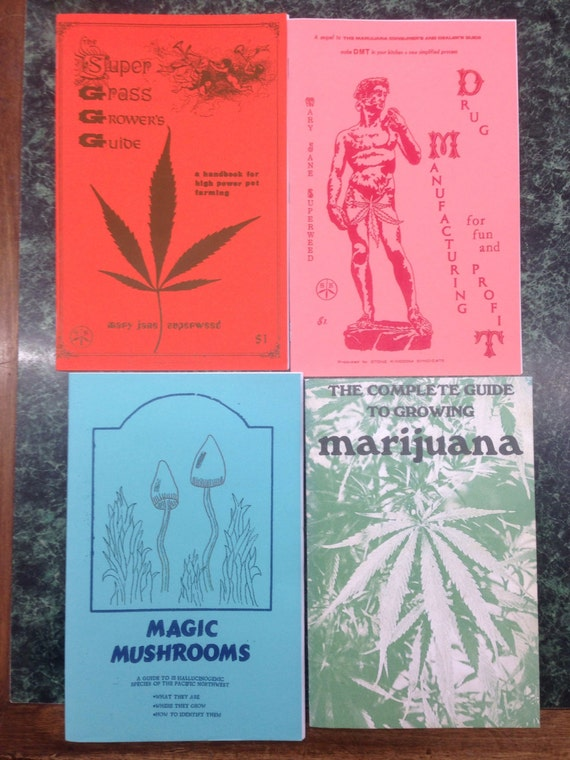 Vintage 1960s Counterculture Drug Pamphlet Lot of 4 Reprints, Various