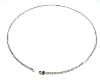 Stainless Steel Chain 14 Inch (35.5cm) With Lobster Claw Clasp