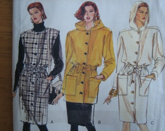 Vogue Pattern 7879 Misses' Jumper, Dress & Tunic    1990    Uncut