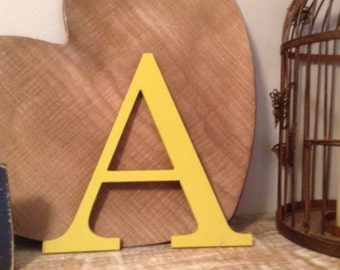 Stock Clearance - Sold As Is - Wooden Letters - Letter A - 8""