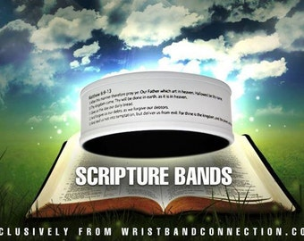 Scripture Wristbands