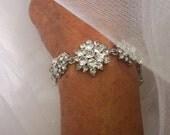 Bridal Bracelet, Wedding Bracelet, Crystal Wedding Bracelet,  Crystal Bridal Bracelet, Rhinestone Bracelet, Anklet
