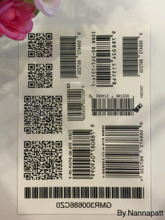 items similar to barcode temporary tattoo set accessories. Black Bedroom Furniture Sets. Home Design Ideas