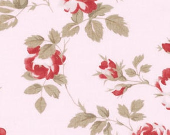 68050  Tanya Whelan Scattered roses pwtw058 in pink color- 1 yard