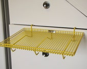 Vintage Serv a Car Tray - Yellow - Car Hop Tray