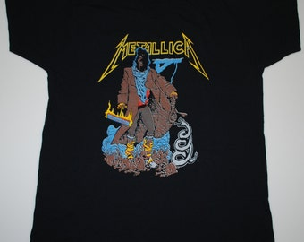 Metallica European Tour Shirt 1992 vintage