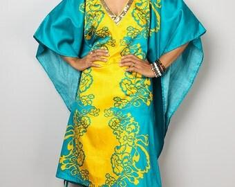 Short Caftan Dress / Maxi Dress / Summer Dress : Bohemian Kaftan Collection no. 5