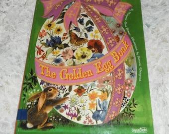 Vintage The Golden Egg Book by Margaret Wise Brown A Big Golden Book 1976