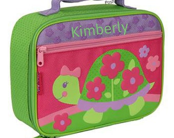 Personalized Lunch Box Bag Stephen Joseph TURTLE NEW