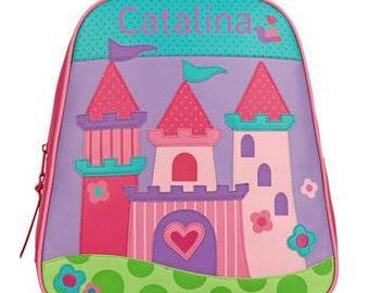 Personalized Backpack Stephen Joseph GoGo Bag Castle