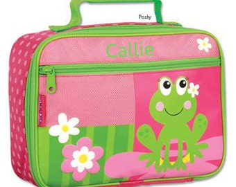 Personalized Lunch Box Bag Stephen Joseph Silly Frog