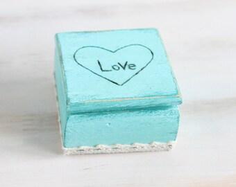 Ring Bearer Box Wedding Ring Box Ring Holder Wedding ring holder Engagement Ring Box Custom Ring Box Jewelry box