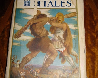 Antique 1913 Book Tanglewood Tales Nathaniel Hawthorne