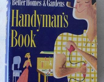 vintage book, Handyman's Book from Better Homes & Gardens, 1951,  from Diz Has Neat Stuff