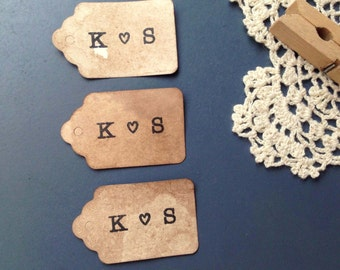 150 XS Vintage Tags. Vintage Travel Boho Wedding. Wedding Favor Tag. Gift Tag. Luggage Name Tag. Anthropologie. Bohemian. Rustic.