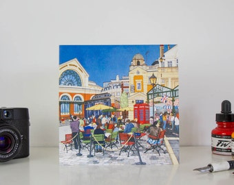 Greeting Card: Covent Garden, London