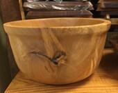 Large TN Maple Bowl