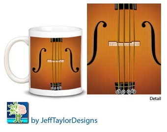 Violin, Viola, Cello or Bass Coffee Mug