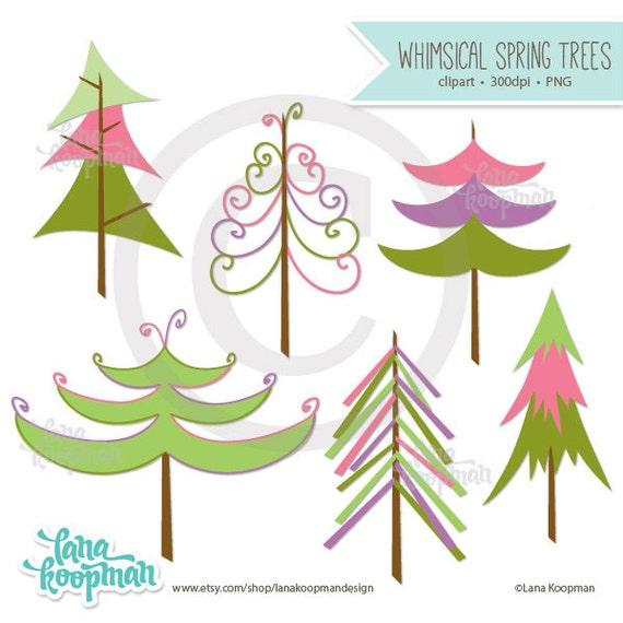 whimsical christmas tree clip art free - photo #29