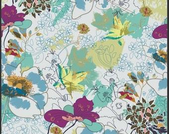 Sale Indie cotton fabric by Art Gallery IN 5100 wonderlust luna