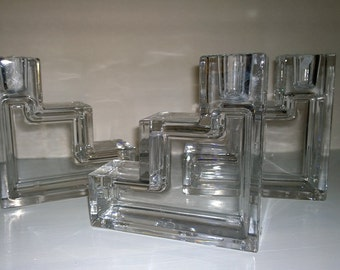 Wilber Orme Pristine Table Architecture Candle Holder Reproductions by Metropolitan Museum of Art