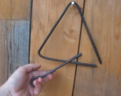 Dinner Bell Triangle - Blacksmith Hand Forged