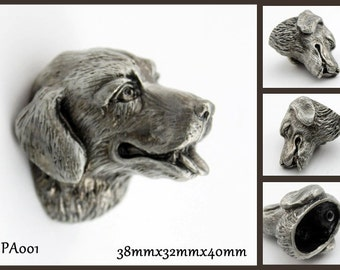 Great Pewter Dresser Knobs Cabinet Pull Handles Dog Animal Cabinet Knobs Pulls  Handle Antique Silver Black Hardware