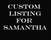 Custom Pillows for Samantha