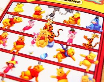 Winnie the Pooh - Paper Die Cut Deco Sticker - Daisyland - 1 Sheet