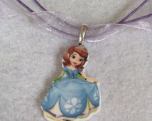 10 Sophia The First Necklaces Party Favors. Waterproof. Fast Shipping from USA
