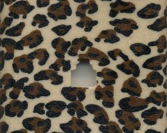 Animal Print Cheetah Phone Jack Plate