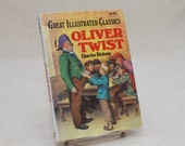 Children's Book: Oliver Twist by Charles Dickens - Hardback, Great Illustrated Classic, Baronet Books, 1989, Classic Literature, British