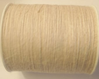 FULL SPOOL - 1mm Ivory Jute Twine (400 Yards)