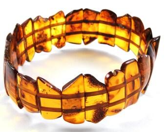 Baltic Amber Bracelet, natural amber bracelet, beaded bracelet, black amber, gift,  波羅的海琥珀手鍊, バルト琥珀ブレスレット, ambre Baltique, Bernstein Armband