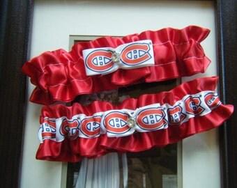 Canadian Hockey Team Garter Set
