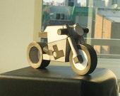 PDF model kit - paperbike M3 - papercraft