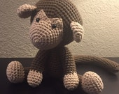 Crochet Monkey - Made to Order
