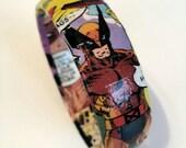 Wolverine X-men Comic Book Bracelet