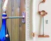 20 HARDWARE ONLY  Wine Bottle Tiki Torch kits - Outdoor Lighting - Gift for Dad - Hurricane Lamp - Outdoor Tiki Torch