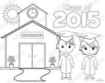kindergarten graduation coloring pages - popular items for kindergarten party on etsy