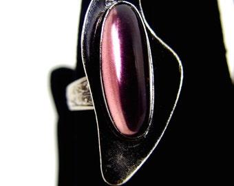 Lovely Modernist Ring