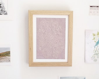 Embroidery Art - Margaret
