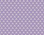 Happy Haunting by Deena Rutter for Riley Blake Designs, Skull Purple, SKU C4675, 1 yd