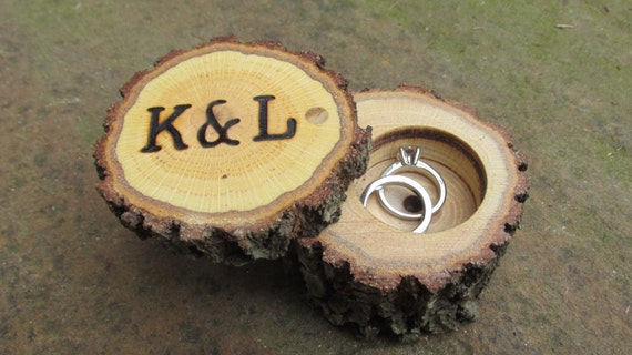 Ring boxes art by ken phillips rustic wedding ring boxes wood ring boxes wooden ring boxes rustic ring bearer junglespirit Image collections