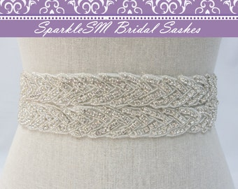 Bridal Sash, Wedding Sash, Bridal Belt, Crystal Sash, Rhinestone Sashes, Jeweled Belt, Bridal Belt, Wedding Gown Belt Bridal Belt, Adeline