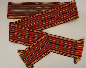 Ukrainian hand woven belt, krayka